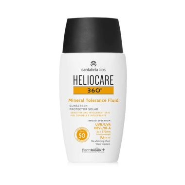Heliocare 360º Mineral Tolerance Fluid SPF 50